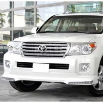 Спойлер переднего бампера Toyota Land Cruiser 200 (08-...)