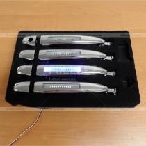 Дверные ручки с подсветкой Toyota Prado 120 (03-09)