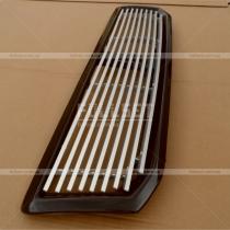 Решетка радиатора алюминий с черной рамкой