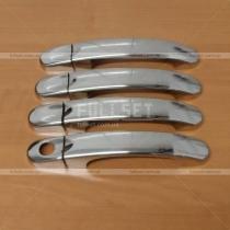 Хром-накладки на ручки Volkswagen Transporter T5 (04-09)