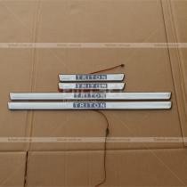 Пороги в салон Mitsubishi L-200 (06-12)