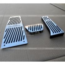 Алюминиевые накладки на педали с символикой Schnitzer