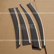 Ветровики на окна Hyundai Accent (2010+)