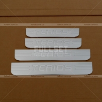 Накладки на пороги Daihatsu Terios (06-15)