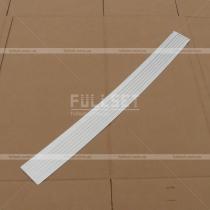 Накладка на задний бампер Fiat Doblo (01-09)