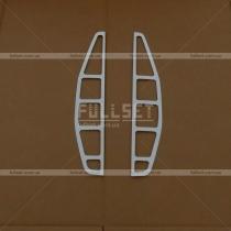 Накладки на задние стопы Fiat Doblo (01-09)