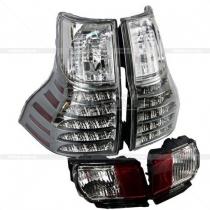 Задние фонари и противотуманки Toyota Prado 150 (08-12)