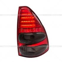 Задние фонари диодные (темные) Toyota Prado 120 (03-09)
