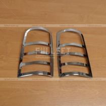 Накладки на задние фонари Citroen Berlingo (02-07)