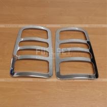 Накладки на заднюю оптику Volkswagen Caddy 04-09