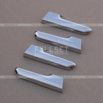 Хром-накладки на дверные ручки салона