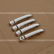 Хром-накладки на ручки Toyota Land Cruiser 200 (08-...)