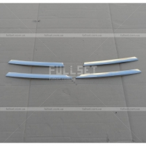Накладки на решетку Opel Vivaro (04-09)