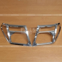 Накладки на фары Nissan Navara (05-12)