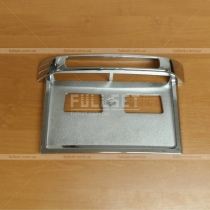 Накладка под задний номер Mitsubishi Pajero Wagon 3 (00-06)