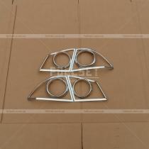 Накладки на задние фонари Honda Civic 4d (06-12)