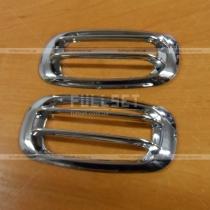 Хром кант на повторители поворотов Toyota Prado 120 (03-09)