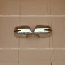Накладки на зеркала (хром) Toyota Prado 150 (2018-...)