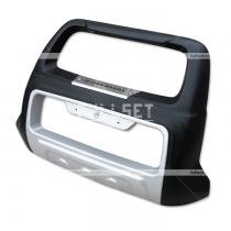 Передняя защита бампера Mitsubishi Pajero Sport (2010-...)