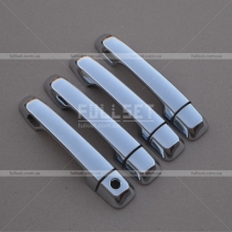 Хром накладки на ручки открывания дверей АБС пластик