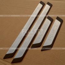 Салонные порожки Mitsubishi Lancer X (07-14)