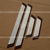 Вставки на пороги Mitsubishi Lancer X (07-14)