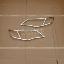 Накладки на фары Mitsubishi Outlander XL (07-12)