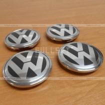 Заглушки в колесные диски с логотипом Volkswagen