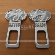 Заглушки ремней безопасности Hyundai Elantra 2011-...