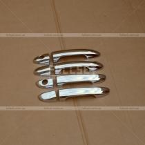 Хром-накладки на ручки Kia Cerato (05-09)