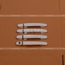 Хром-накладки на ручки Toyota Hilux (05-15)