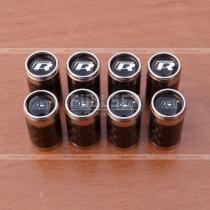 Колпачки на ниппеля карбоновые с символикой АВТ, R
