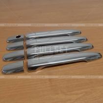 Хромированные ручки Mitsubishi Lancer X (07-14)