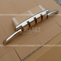 Защитная дуга переднего бампера Mitsubishi Pajero Wagon 4 (08-13)