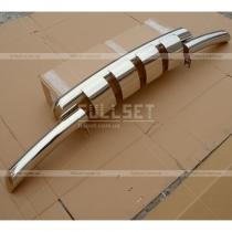 Передняя защита бампера с зубьями (диаметр 76 мм)
