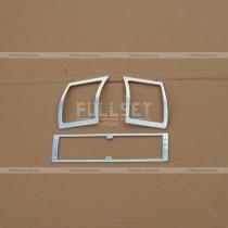 Хром-накладки на обдувы салона Mercedes W140 (91-98)