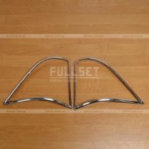 Накладки на задние фонари Mercedes ML W163 (98-05)
