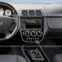 Кольца на регулятор печки Mercedes ML W163 (98-05)