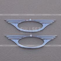 Хром кант повторителей Toyota Rav 4 (06-12)
