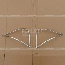 Накладки на задние фонари Mercedes W220 (98-07)