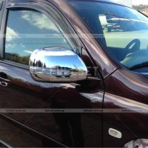 Хром на зеркала с повторителями Toyota Prado 120 (03-09)