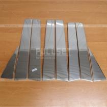 Накладки на стойки Nissan X-Trail (07-13)