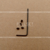 Декоративные хромированные колпачки на ниппеля со знаком AMG