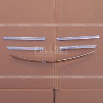 Накладки на решетку Mercedes ML W163 (98-05)