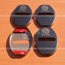 Накладки на петли замков Volkswagen, черные