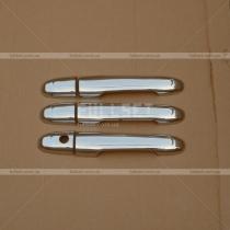 Хром-накладки на ручки Mercedes Vito 639 (04-14)