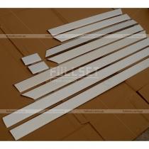 Хром-накладки на молдинги дверей (высококачественная нержавейка)