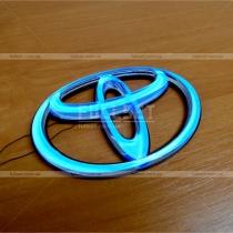 Эмблема неон Toyota