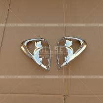Накладки на задние фонари Mitsubishi L-200 (06-12)