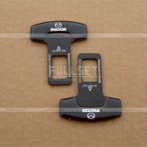 Заглушки в ремни безопасности Mazda